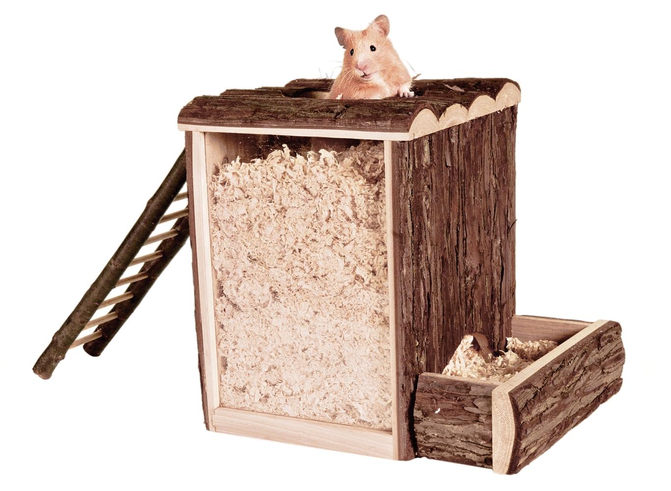 Домик хомяку своими руками из картона