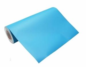 Folia samoprzylepna jasny niebieski matowa wys. 50cm (10cm dług.)