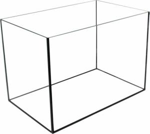 AKWARIUM 40x25x25 GLASSMAX OPTI WHITE