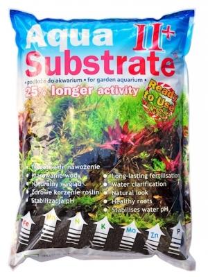 Aqua Substrate II+ 1,8 kg Powder  (czarne)