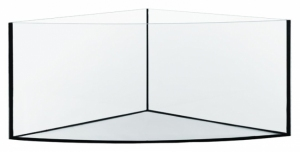 AKWARIUM 85x85x50 TRIO