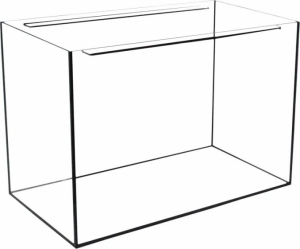 AKWARIUM 80x35x40 GLASSMAX OPTI WHITE