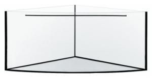 AKWARIUM 107x107x60 TRIO