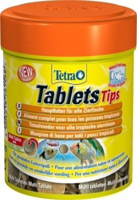 Tetra Tablets Tips 165 Tab.