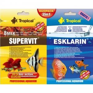 POKARM 2W1 SUPERVIT 12G+ESKLARIN 10ML