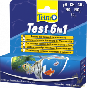 Tetra Test 6in1 25 szt.