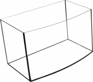 AKWARIUM 40X25X25 AP GLASSMAX OPTI WHITE