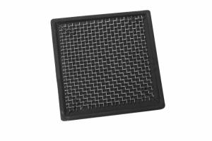Podstawka ceramiczna z siatką stalową kwadratowa 6,5cm