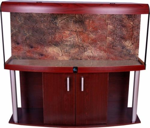 Zestaw COMFORT 160x60x67 profil mahon i pokrywa ALU T5 czarna