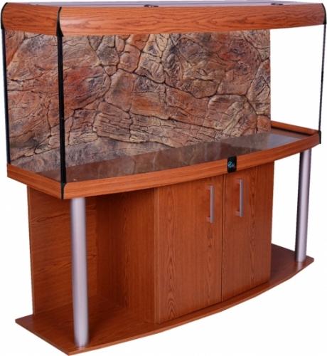 Zestaw COMFORT 160x60x67 profil dab rustykalny i pokrywa ALU T5 dab rustykalny